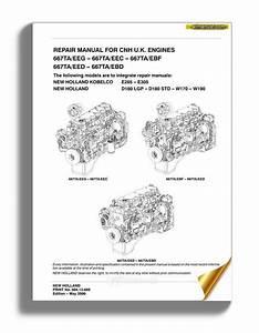 New Holland Engine 667ta En Service Manual