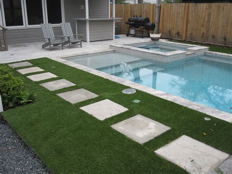 installed  improved artificial turf grass