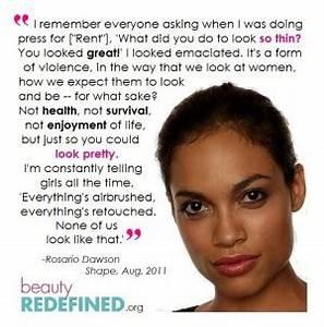 Rosario Dawson Quotes QuotesGram