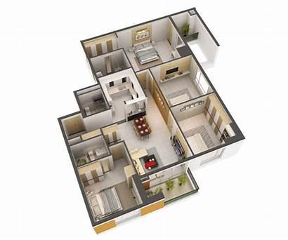 3d Interior Detailed Plan Max Luxury Studio