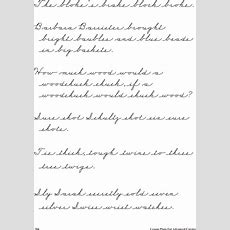 Download Lessons For Cursive Handwriting Template Example For Free  Page 26 Formtemplate