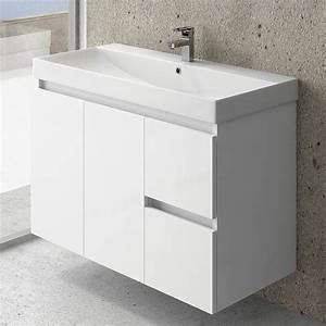 meuble de salle de bain 100 cm today With meuble salle de bain en 100 cm