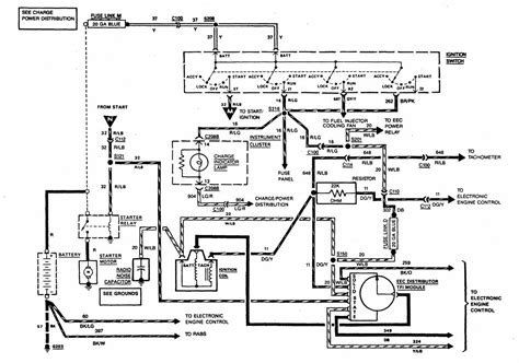 1989 Ford Truck Starter Wire Diagram 1989 ford f250 starter solenoid wiring diagram periodic