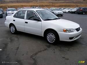 Toyota Corolla 2002 : 2002 super white toyota corolla ce 11893291 car color galleries ~ Medecine-chirurgie-esthetiques.com Avis de Voitures