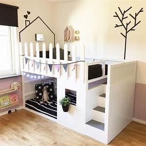Kinderzimmer Mädchen Ikea : mommo design ikea kura hacks kinderzimmer pinterest ~ Michelbontemps.com Haus und Dekorationen