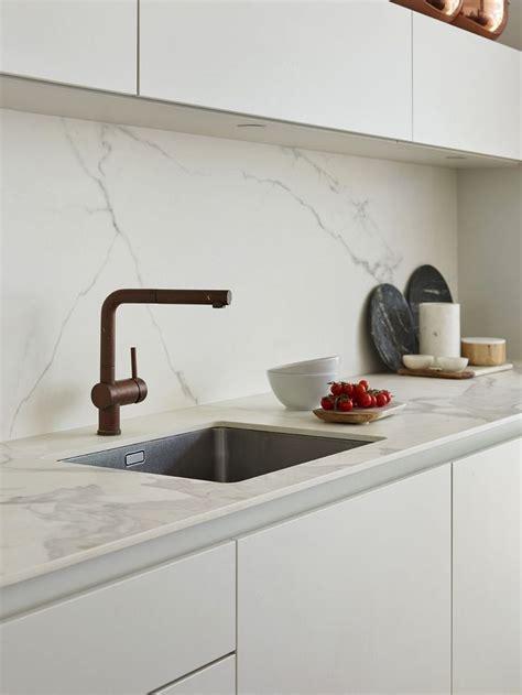 encimeras de cocina  efecto marmol encimera cocina