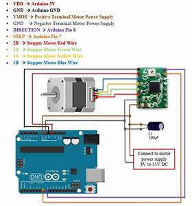 Complete Beginner Trying To Make My Stepper Motor Work      Power Troubles