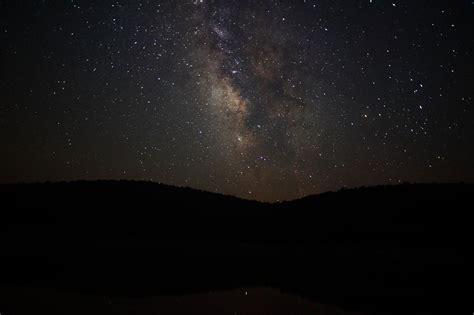 চিত্রnight Sky Milky Way Stars Hills West Virginia