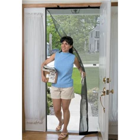 temporary screen door drop instant bug screens betterimprovement
