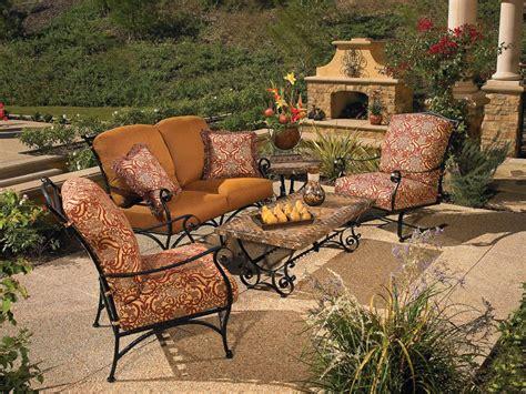 furniture wrought iron patio furniture cozy bird nest