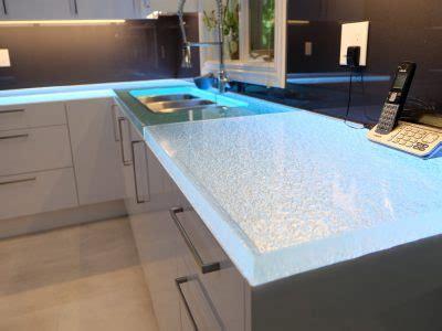 glass countertops  kitchen bar bathroom cbd glass