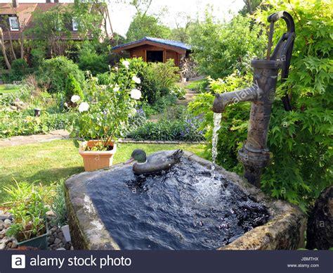 Schwengelpumpe Garten Swalif
