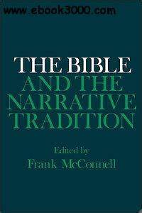 The Bible and the Narrative Tradition  Free eBooks Download