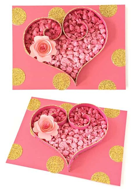 tissue paper heart craft cute valentines day art project