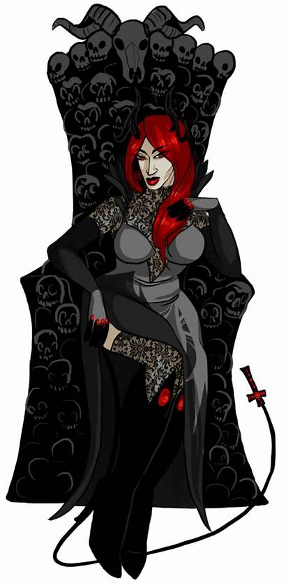 Demon Female Devil Woman Secretary Hell Satan