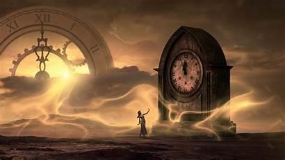 Fantasy Clock 4k Wallpapers Desktop Screen Mobile