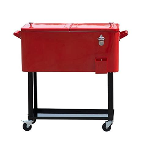 outsunny b2 0010 rolling chest portable patio