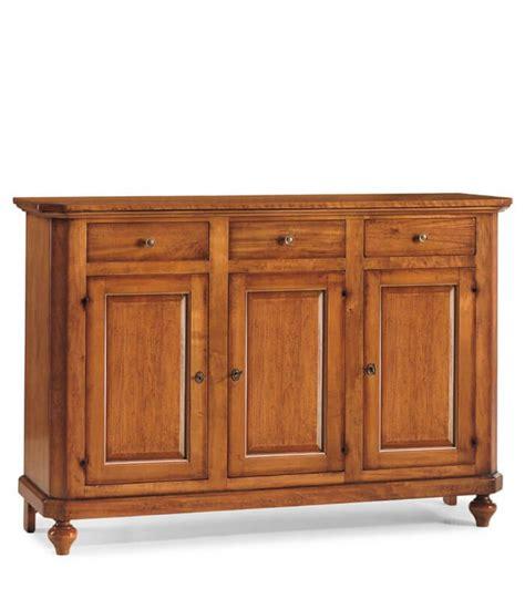 credenze in legno credenza in legno arte povera 3 porte 3 cassetti