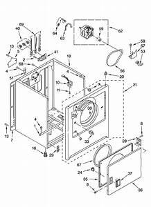 Roper Red4300sq0 Dryer Parts