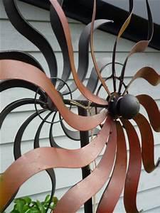 Windspiel Garten Metall : windspiel gartenstecker windrad sonne gartenkunst garten ~ Lizthompson.info Haus und Dekorationen