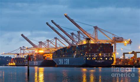 Container Ships Docked In Port Of Oakland Photograph By B Badezimmer Aufsatzwaschbecken Heizstrahler Nürnberg Selber Planen Playmobil Planung Verputzen Sitzbank