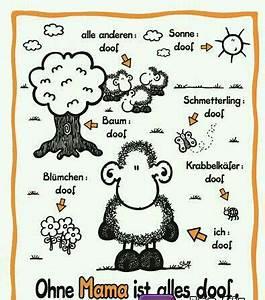 Alles Ist Doof : ohne mama ist alles doof sheepwould pinterest ~ Eleganceandgraceweddings.com Haus und Dekorationen