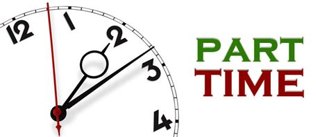 part time for trabalhar em part time o que deve saber