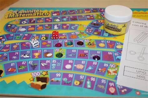 Forma parejas y con el apoyo de un dado jueguen una partida. Caminito Matemático Juego De Mesa Preescolar Y Primaria - $ 65.00 en Mercado Libre
