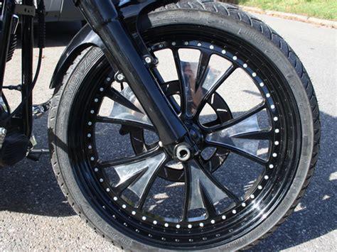 Bat Custom Wheels For Harley's
