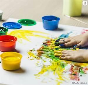 Diy enfants comment fabriquer de la peinture pour les for Mettre de la peinture