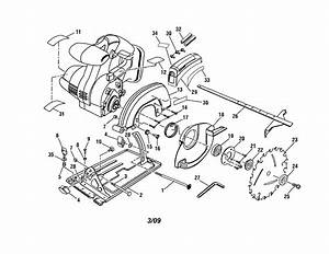 Craftsman 315115780 Circular Saw Parts