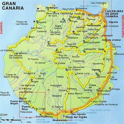 map  gran canaria travelquazcom