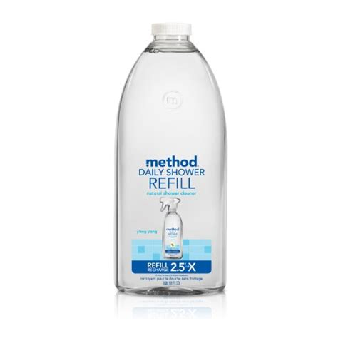 Method Shower Spray Refill by Method Daily Shower Spray Cleaner Refill Ylang Ylang 68
