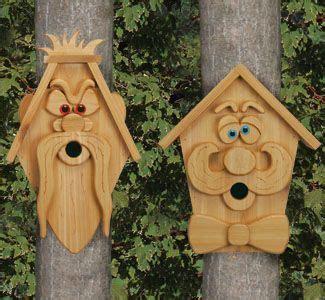 Cedar Men Birdhouse Plans Woodcraft Patterns Full Sized