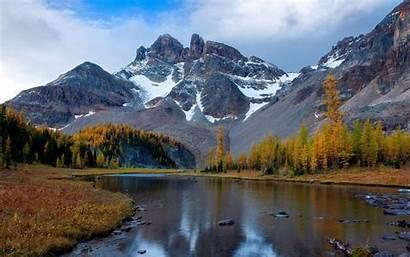 4k Mountain Forest Landscape Lake Nature Fog