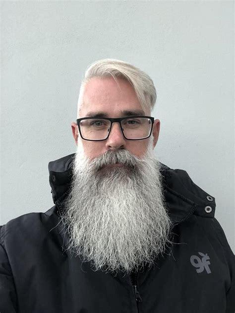 elegant grey beard styles thatll set