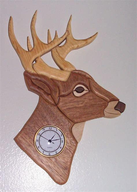 stag wall clock inspired  klockit pinterest clock