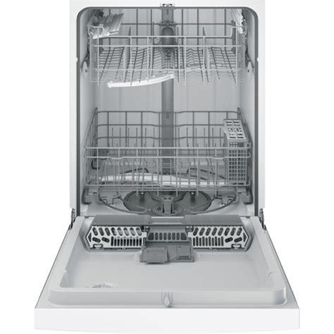 """GE GDF520PGJWW 24"""" White Built In Dishwasher   BrandsMart USA"""