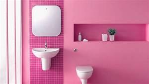 Blush bathrooms are bold shawnee ok real estate for Interior design pink bathrooms