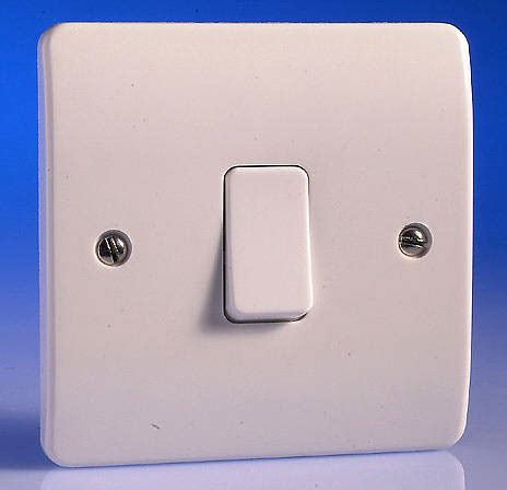 gang   light switch white