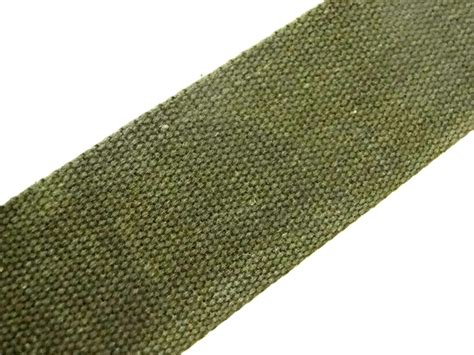 Upholstery Webbing Straps by Olive Green 53 Cotton Webbing Belting Fabric Bag