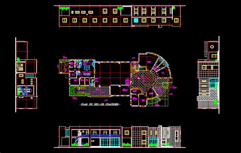 hostel youth hostel  autocad cad   kb