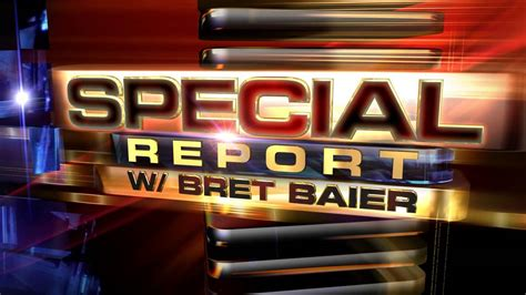 """Fox News Channel's """"special Report With Bret Baier"""" 2012"""