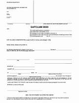 How To File A Quit Claim Deed In California Pictures