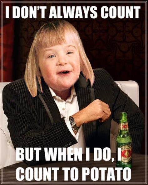 I Can Count To Potato Meme - funny retard potato pics www pixshark com images galleries with a bite