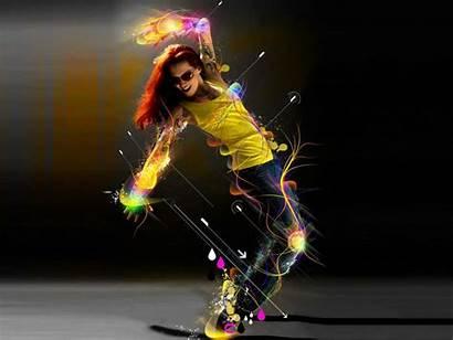 Dance 3d Mood Graphic Wallpapers Desktop
