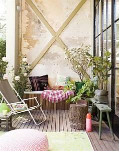 hangematte balkon und andere einrichtungsideen 15 With balkon teppich mit tapete industrial