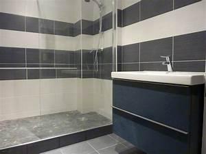 Carrelage Salle De Bain Bricomarché : idee carrelage salle de bain castorama ~ Melissatoandfro.com Idées de Décoration