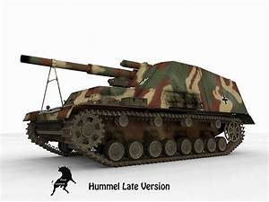 Sd Automobile : sd kfz 165 hummel late version 3d model max obj ~ Gottalentnigeria.com Avis de Voitures