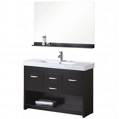 design element citrus        single vanity